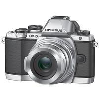 Digitale fotocameras - Olympus OM-D E-M10II Zilver + EZ-M 14-150R - V207054SE000