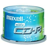CD(R)W, DVD(R)W en blu-Ray - Maxell CD-R 80 XL 700MB 48X CB 25 pcs - 628522