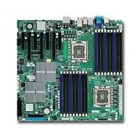 Moederborden - Supermicro X8DAH+ 5520 dual Xeon mainboard - MBD-X8DAH+-O