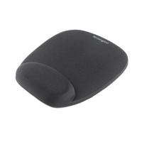 Muismatten - Kensington Foam Mouse Wristrest - Muismat met polskussen - zwart - 62384