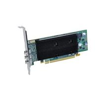 VGA kaarten - Matrox M9138 1GB DDR2 PCIe x16 2560x1600 fanless- DVI-D-upgradable met optional cableCAB-DP-DVIF - M9138-E1024LAF