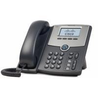 Telefoon - Cisco Small Business SPA 502G - VoIP-telefoon - SIP, SIP v2, SPCP - enkelvoudige lijn - zilver, donkergrijs - voor Small Business Pro Unified Communications 320 met 4 FXO - SPA502G