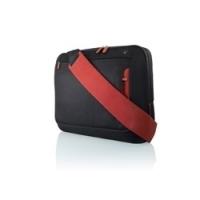 Notebook tassen - Belkin 15.6 MESSENGER BAG JET/CABERNET - F8N244EABR