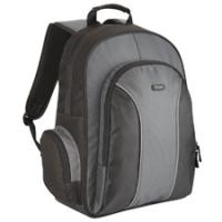 Notebook tassen - Targus Essential 15-15.6i Laptop Backpack Zwart - TSB023EU