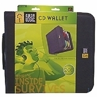 Overige opslagmedia - Case Logic CD/DVD Wallet CDW208 Case CDW208 208x NYL 12 maanden garantie - CDW208