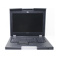 Rack monitor consoles - HP Monitor and Keyboard + 17 inch - 406499-031