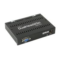 VGA kaarten - Matrox DualHead2Go Digital Edition Matrox Dual Head2Go Digital EditionR USB-powered 24 maanden garantie - D2G-A2D-IF