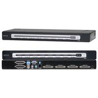 KVM switches - Belkin pro3 16-port KVM Switch PS2 and USB in/out - F1DA116ZEA