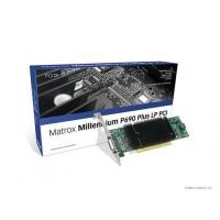 VGA kaarten - Matrox Millenium P690 Plus 256MB PCI Low Profile 2xDVI-I - 1920x1200(digital)/2048x1536(analog) fanless 11W - quad-upgradable met CAB-L60-4XAF - P69-MDDP256LAUF