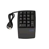 Toetsenborden - Lenovo Keypad 17keys numeric USB Zwart - 33L3225