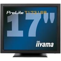 Touch screen monitoren - iiyama 17i LCD Resistive Touch Screen. 1280 x 1024. TN panel. Speakers. D-Sub. DVI-D. 200cd/m*2. 900:1. 5ms. RS232 & USB Interface. Built-In Power Adapter. VESA 100mm - T1731SR-B1