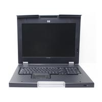 Rack monitor consoles - HP Monitor and keyboard (Duits) - 406500-041