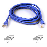 Kabels - Belkin Cat6 Snagless Patch Cable 1m Blue - A3L980B01M-BLUS