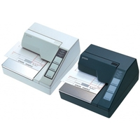 Matrix printers - Epson TM-U 295, RS232, zwart recept printer, dot-matrix printen, printbreedte (max.): 65 mm, snelheid(max): 2.1lps, RS232, ESC/POS, apart bestellen, interface kabel, voeding, kleur: zwart - C31C163292