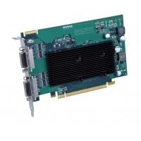 VGA kaarten - Matrox M9125 512MB DDR2 PCIe x16 2xDVI-I - 2560x1600(digital)/2048x1536(analog) fanless - M9125-E512F