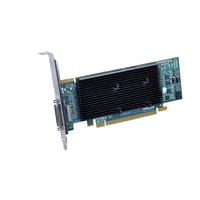 VGA kaarten - Matrox M9140 512MB DDR2 PCIe x16 Low Profile 1xKX-20 to 4xDVI-I - 1920x1200(digital)/1920x1200(analog) fanless - M9140-E512LAF