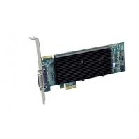 VGA kaarten - Matrox M9120Plus 512MB DDR2 PCIe x1 Low Profile 1xLFH-60 to 2xDVI-I - 1920x1200(digital)/2048x1536(analog) fanless - quad-upgradable (analog) met CAB-L60-4XAF - M9120-E512LAU1F