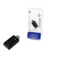 Geluidskaarten - LogiLink UA0078 Audio Adapter 7.1 Logilink UA0078Audio Adapter 7.1 USB 24 maanden garantie - UA0078