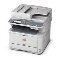 Multifunctionele printers - OKI MB461 - Multifunctionele printer - Z/W - LED - A4 (210 x 297 mm) (origineel) - 210 x 1321 mm (doorsnede) - maximaal 33 ppm LED - maximaal 33 ppm (printend) - 251 vellen - USB 2.0, LAN, USB host - 44871004