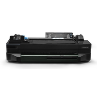 Plotters - HP Designjet T120 24inch 1200dpi 256MB Color touchscreen wireless USB 2.0 70sec/page on A1/D 40A1/D prints per Uur 4 color: Dye-based (C M Y)  pigment-based (K) - CQ891A#B19
