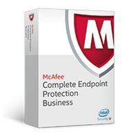 Antivirus en beveiliging - McAfee Complete EndPoint Protection - Business - ProtectPLUS Perpetual License met 1 jaar Gold Software Support - 51 t/m 100 - CEBCDE-BA-CG