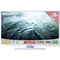 "TV s - Salora 28LED9112CSW - 28"" Klasse - 9100 Series LED-tv - Smart TV - 720p - wit - 28LED9112CSW"