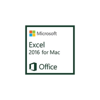 Spreadsheets - Microsoft ExcelMac 2016 AllLng OLV 1License NoLevel AdditionalProduct Each - D46-00931