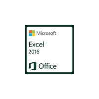 Spreadsheets - Microsoft Excel 2016 AllLng OLV 1License LevelD AdditionalProduct Each - 065-08555