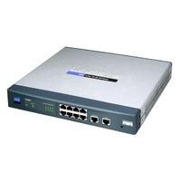 Routers - Cisco Router 10/100 VPN 8-Port - RV082-EU